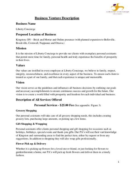Business Plan Final Draft Draft Business Plan Template