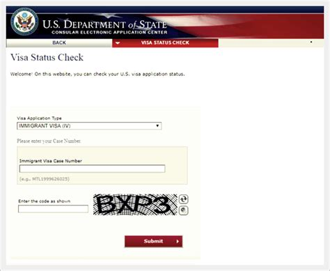 Uscis My Status Search Page How To Check Nvc Status