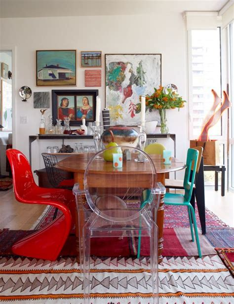 Funky Dining Room Sets by 25 Best Ideas About Eclectic Dining Rooms On
