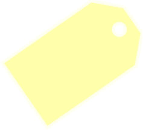 price tag light yellow clip art at clker com vector clip