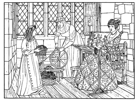 medieval coloring pages to download and print for free
