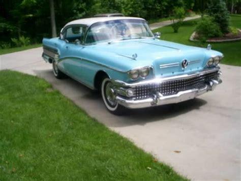 1958 buick roadmaster 75 for sale freeland michigan