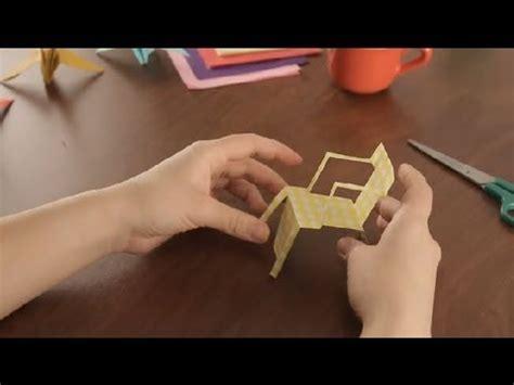 como hacer sillas de playa de papel proyectos de arte en papel youtube