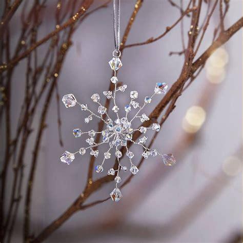 Handmade Tree Ornaments Ideas - handmade snowflake decoration snowflake