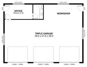 Garage Workshop Floor Plans by Garage Plan 90882 At Familyhomeplans Com