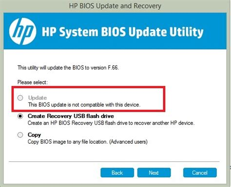 bios reset tool hp downgrade bios from f 67 to f 66 for hp 15 n010tx hp