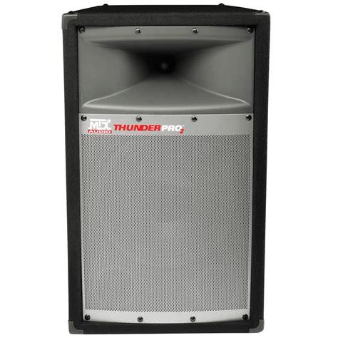 home audio speaker cabinets tp1200 12 quot thunderpro full range cabinet dj speaker mtx
