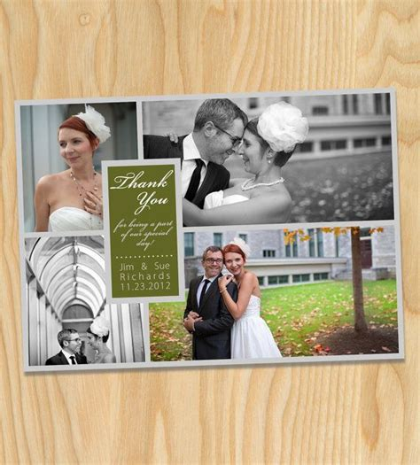 Wedding Announcement Thank You Cards by 7 Best Thank You Cards Images On Wedding