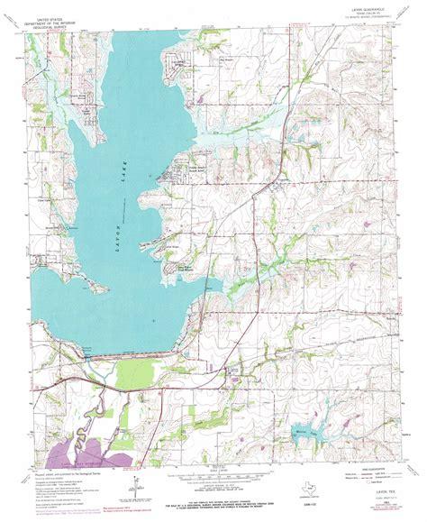 lavon texas map lavon topographic map tx usgs topo 33096a4