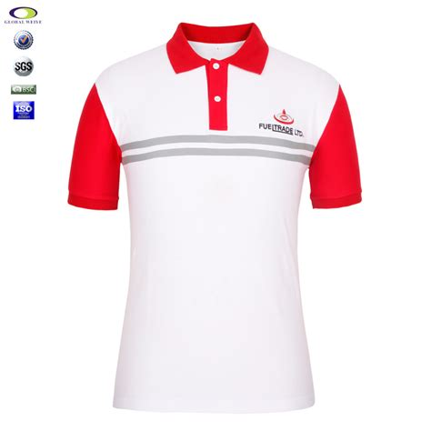Watchout Casual T Shirt Merah cheap color combination collar design polo shirts