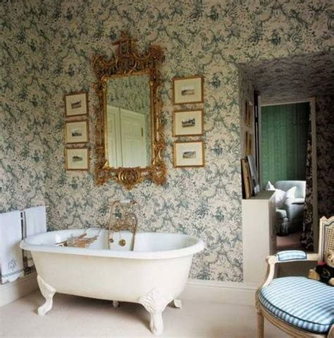 wallpaper in bathroom ideas wallpaper ideas to make your bathroom beautiful ward log homes