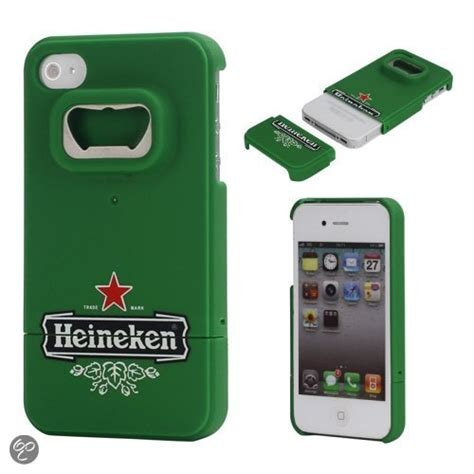 Heineken Iphone 4 4s bol iphone 4 en 4s handig bieropener hoesje