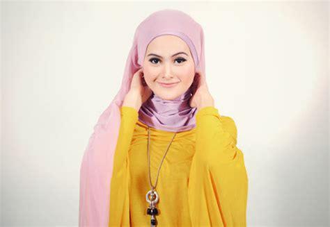 Jilbab Segiempat Corak turban style dengan jilbab segiempat brekelesix s