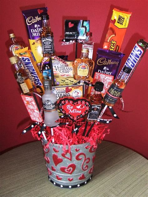 valentines gift basket for him chocolate bouquets for him search