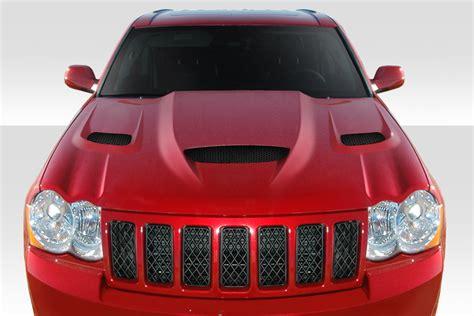 jeep hellcat custom duraflex 113007 2005 2010 jeep grand cherokee hellcat