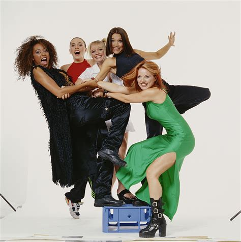 The Spice Are Backand Not A Platform Trainer In Sight by Beckham Used To Make The Best Faces In