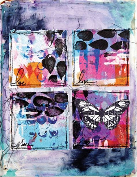 doodle draw journal kristy conlin grid drawing from doodle draw journal create mixed media