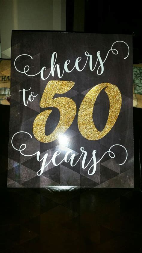 50th Birthday Decorations For by 25 Best Ideas About 50th Birthday Themes On