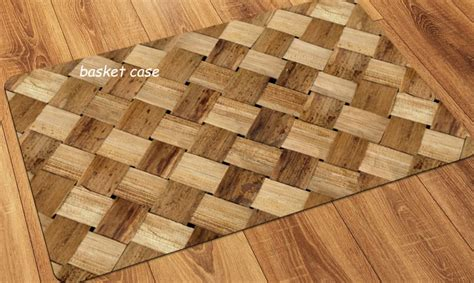 Floor Mats For Hardwood Floors by Faux Flooring Printed Wood Floor Mat