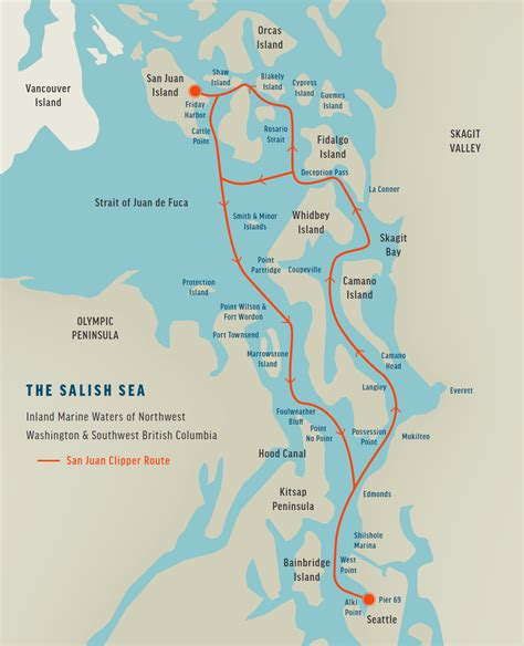 seattle islands map map of islands of seattle pictures to pin on pinsdaddy