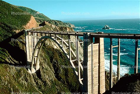 Pch Bridge - california pacific coast highway 1 big sur bixby bridge concrete arch bridge pch