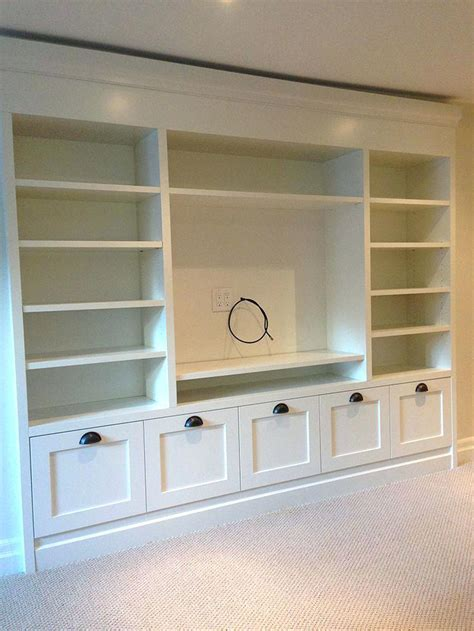 built in shelves and cabinets 25 best ideas about built in storage on pinterest shelves