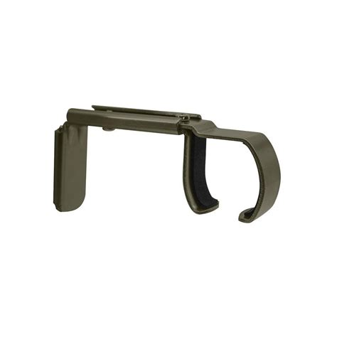 erod curtain rod erod 5 5 in bracket in coffee erodbc the home depot
