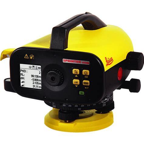 leica d 3 digital opti cal survey equipment leica sprinter 150m digital level