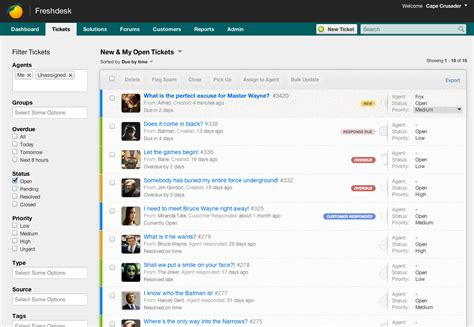 Sunshine On Freshdesk The New Tickets View Freshdesk Blogs
