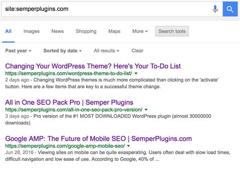 Email Search Results Checking Index Status In Search Results Semper Plugins