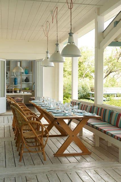 veranda lighting ideas veranda table and pendant lights garden room