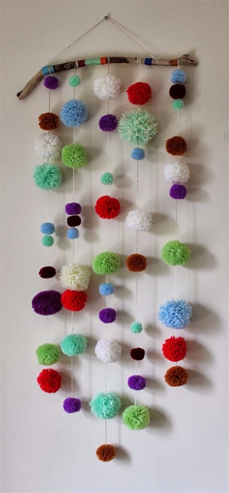 pom pom craft projects 38 pom pom crafts and diys diy projects for