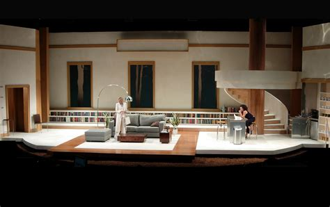 home design set the trail hauck the clean house hauck set design south coast repertory