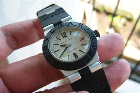 Jam Tangan Bvlgari Quartz jam tangan for sale bulgari aluminium mid size quartz sold