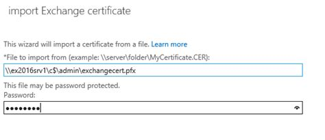 Practical Exporting And Importing exporting and importing ssl certificates for exchange 2016