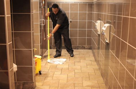mopping bathroom floor 10 training tips for restroom cleaning century products llc