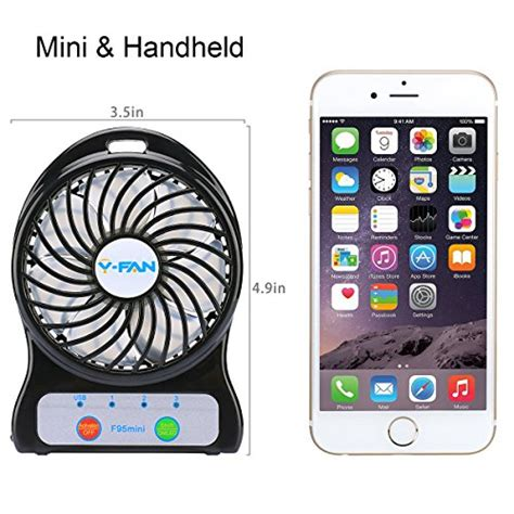 small battery operated desk l mini battery operated fan portable personal handheld tiny