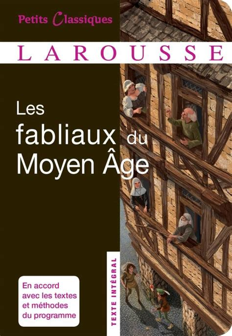 libro fabliaux du moyen age livre les fabliaux du moyen age anonyme auteur inconnu larousse petits classiques larousse