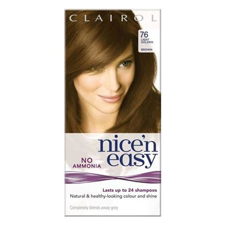 non ammonia hair dye brands clairol nice n easy non permanent hair dye no amonia