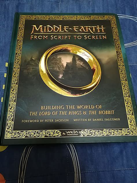middle earth from script to screen building the world of the lord of the rings and the hobbit books fotos libro middle earth from script to screen