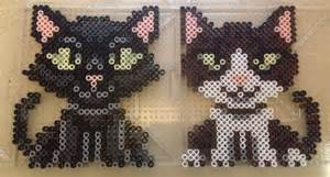 cat perler bead pattern cat perler bead patterns perler hama beading
