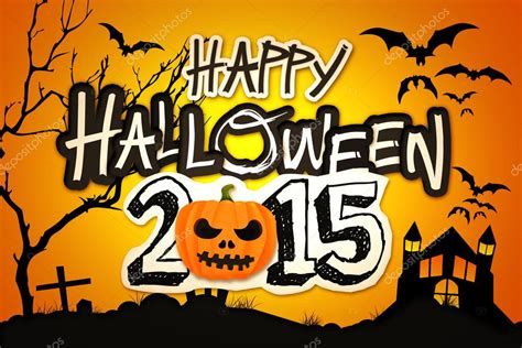 imagenes halloween 2015 happy halloween 2015 orange pumpkin night graveyard