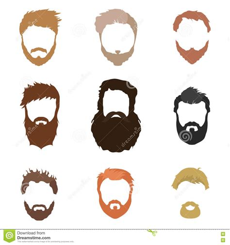 hairstyles cut out fashionable men s hairstyle beard face hair cut out