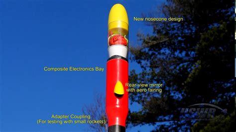 carbon fiber water rocket hits  feet  onboard hd