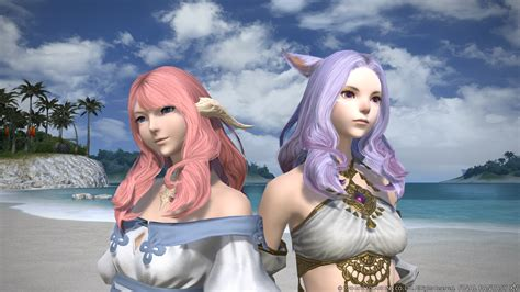 ffxiv all new hairstyles 3 0 final fantasy xiv gets even more beautiful with new