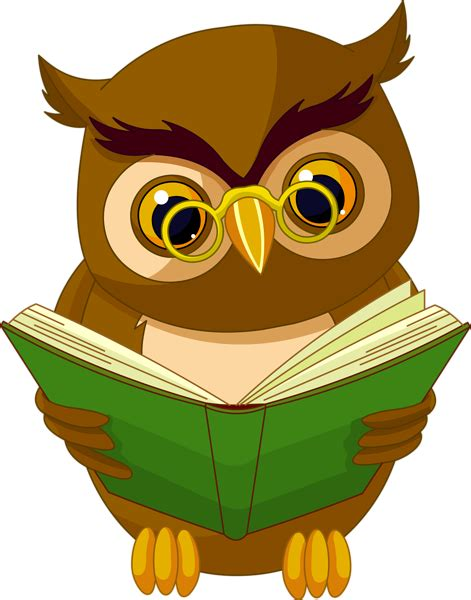 libro the owl who was transparent owl with book png clipart picture owls owl books and clip art