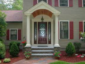 the third front step idea that makes the exterior of your home looks more amazing is making