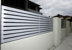 modern fence horizontal metal fence design www pixshark com images galleries with a bite
