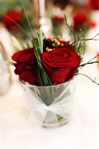dekoration rot rote als tischdeko blumen