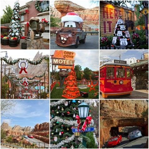 disney for the holidays adventure car cars land and holidays